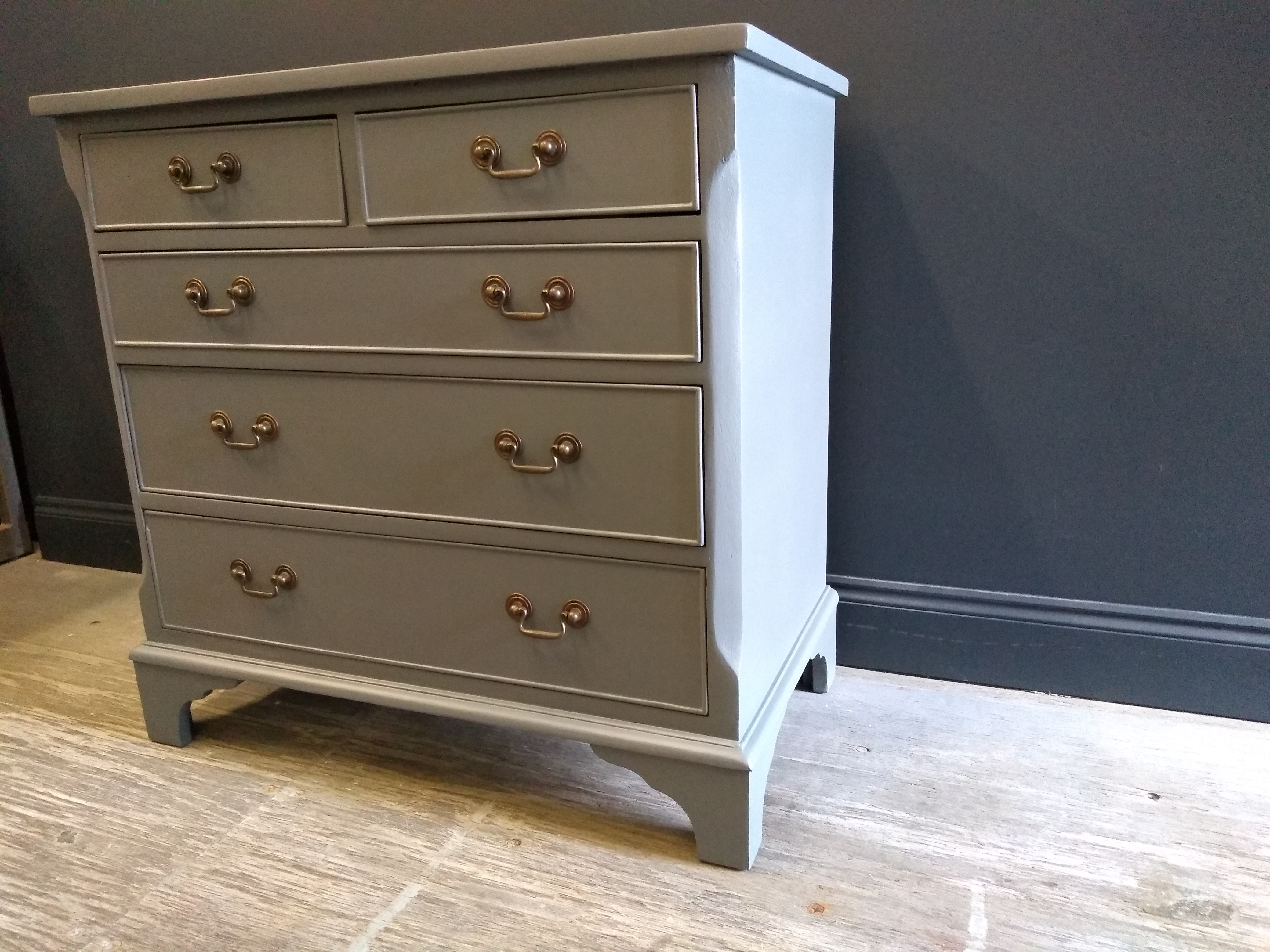 Down pipe Painted Chest of Drawers Suffolk 2