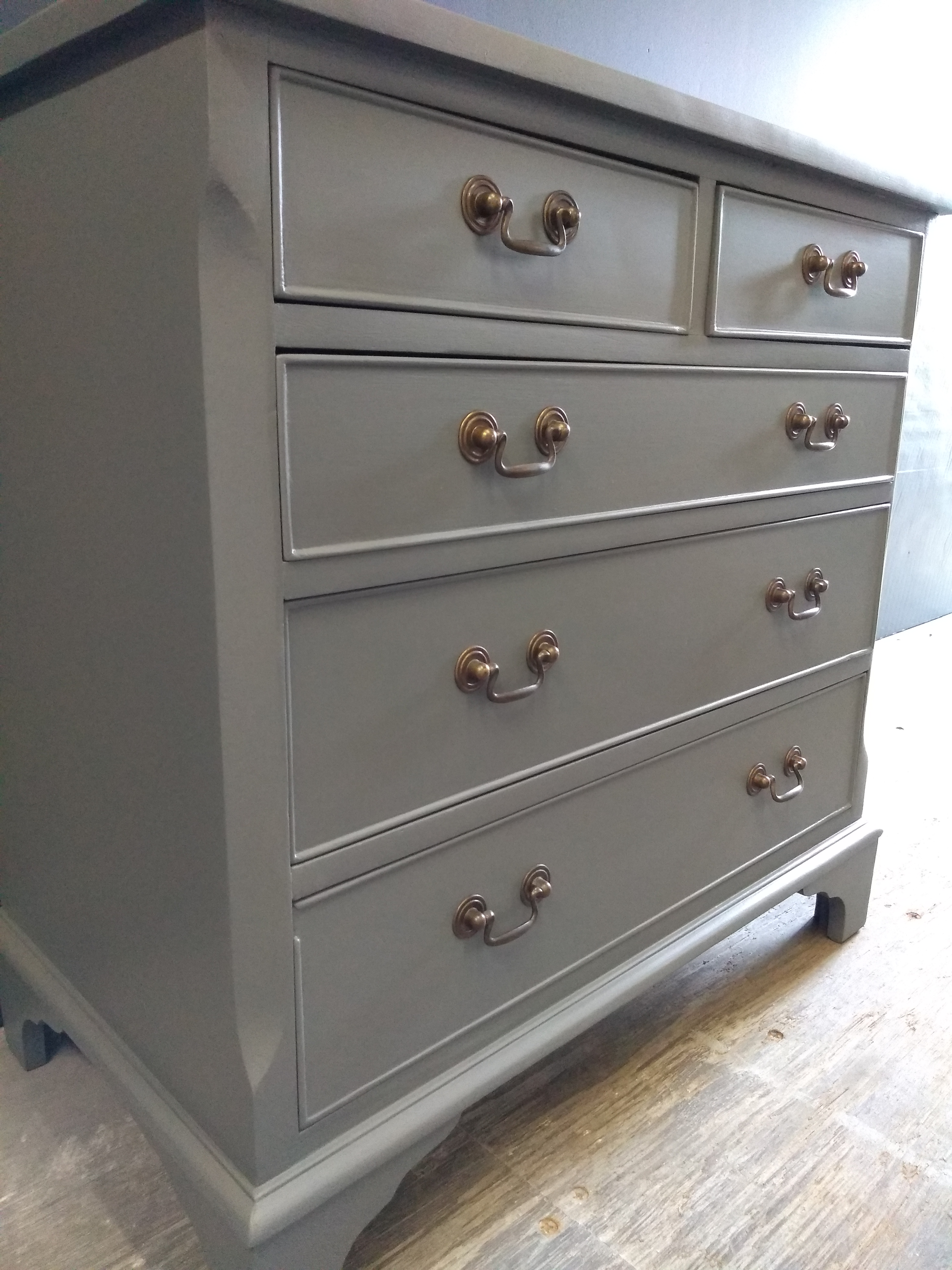 Down pipe Painted Chest of Drawers Suffolk 5