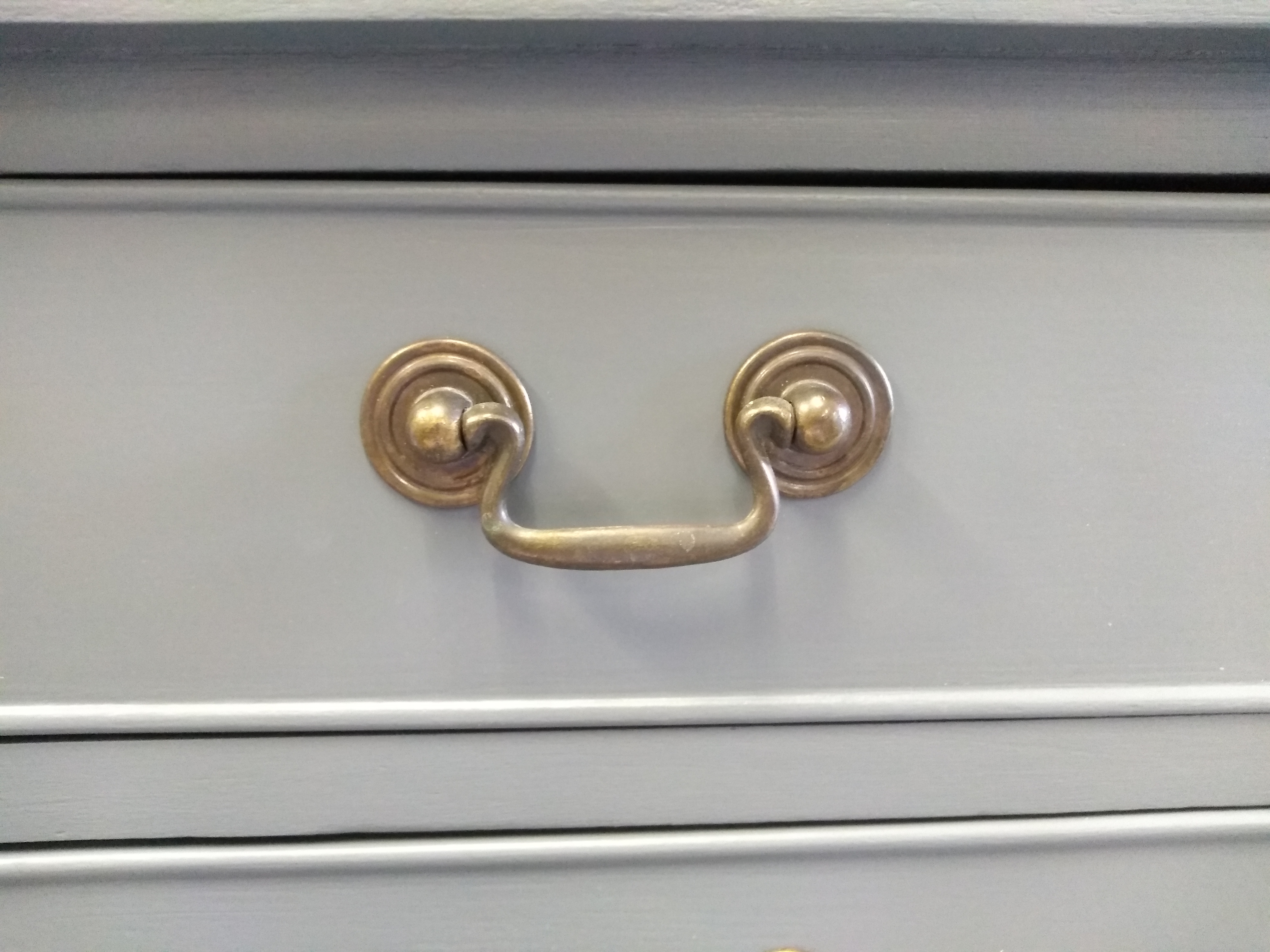 Down pipe Painted Chest of Drawers Suffolk 7