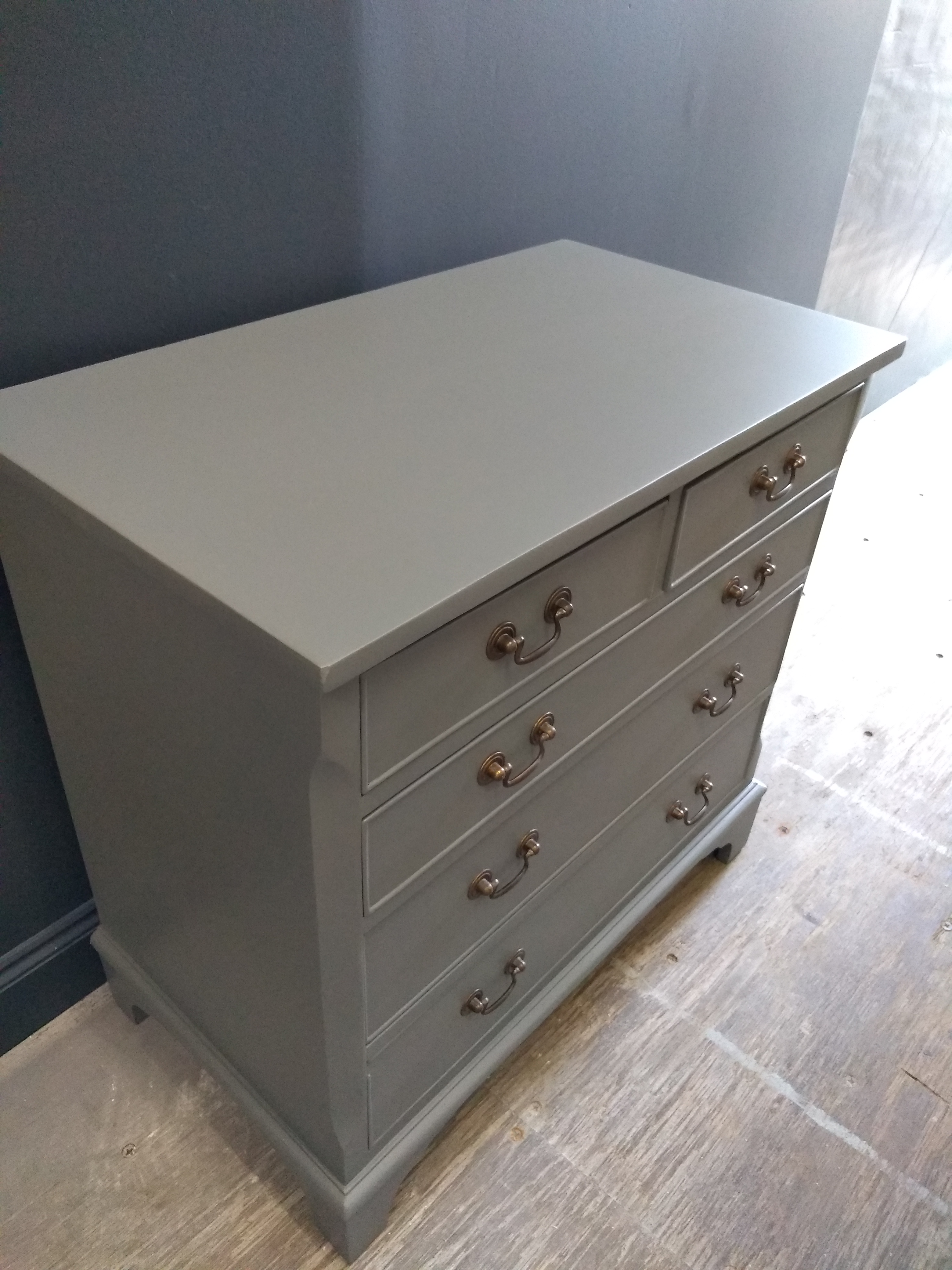 Down pipe Painted Chest of Drawers Suffolk 6