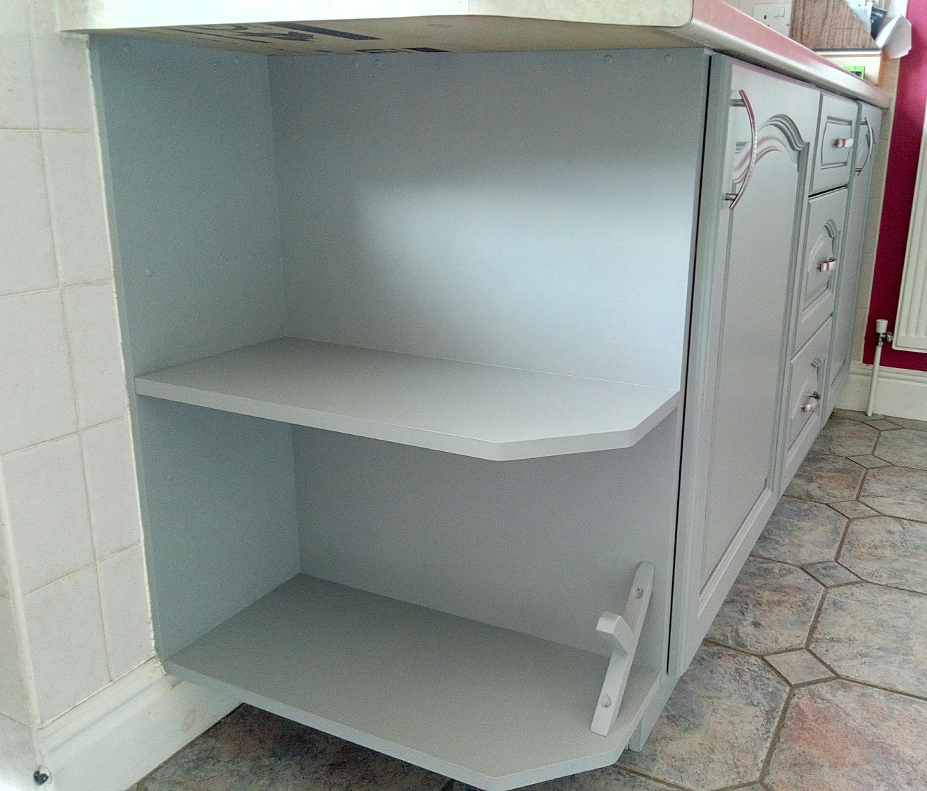Farrow and Ball Painted Kitchen Colchester after11