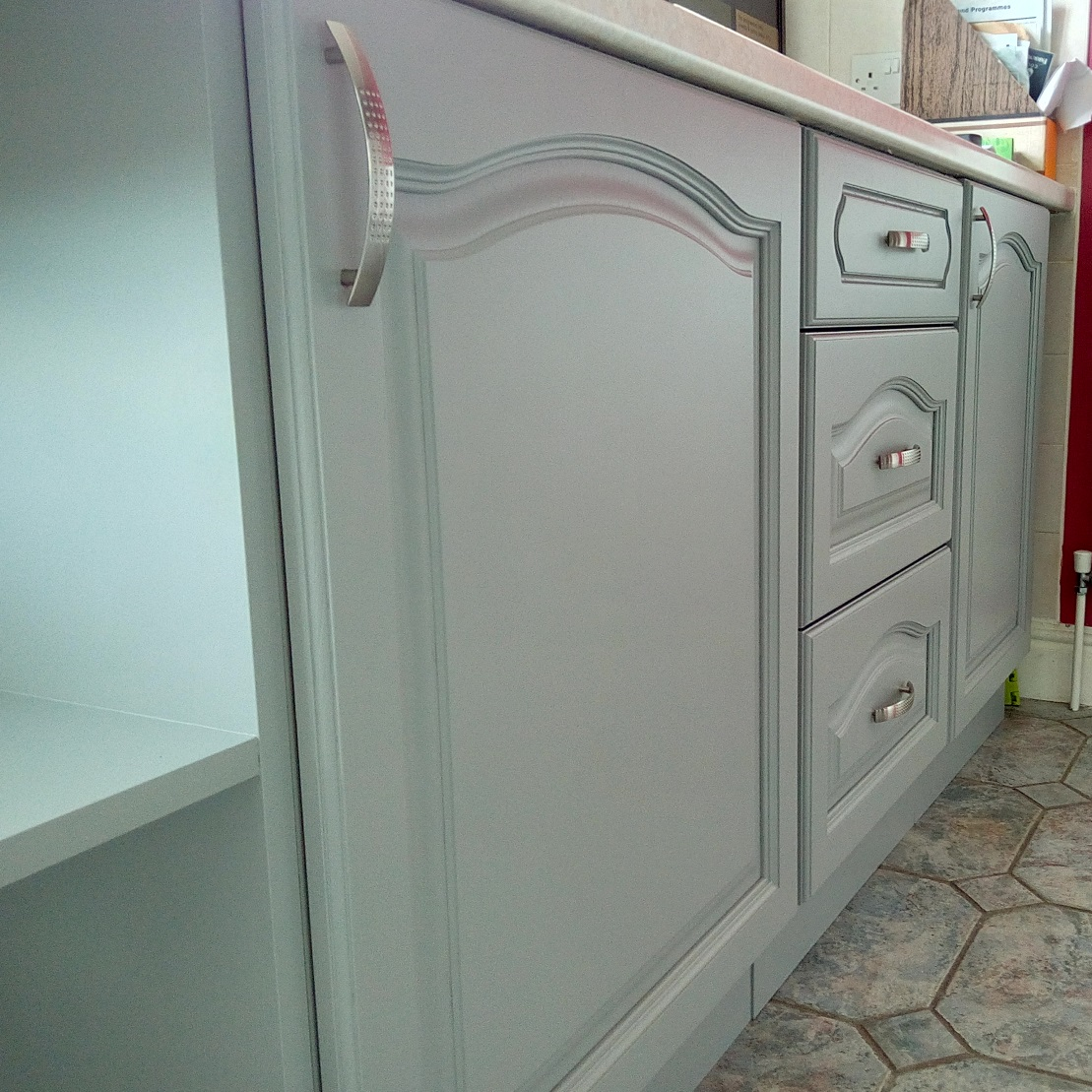 Farrow and Ball Painted Kitchen Colchester after12