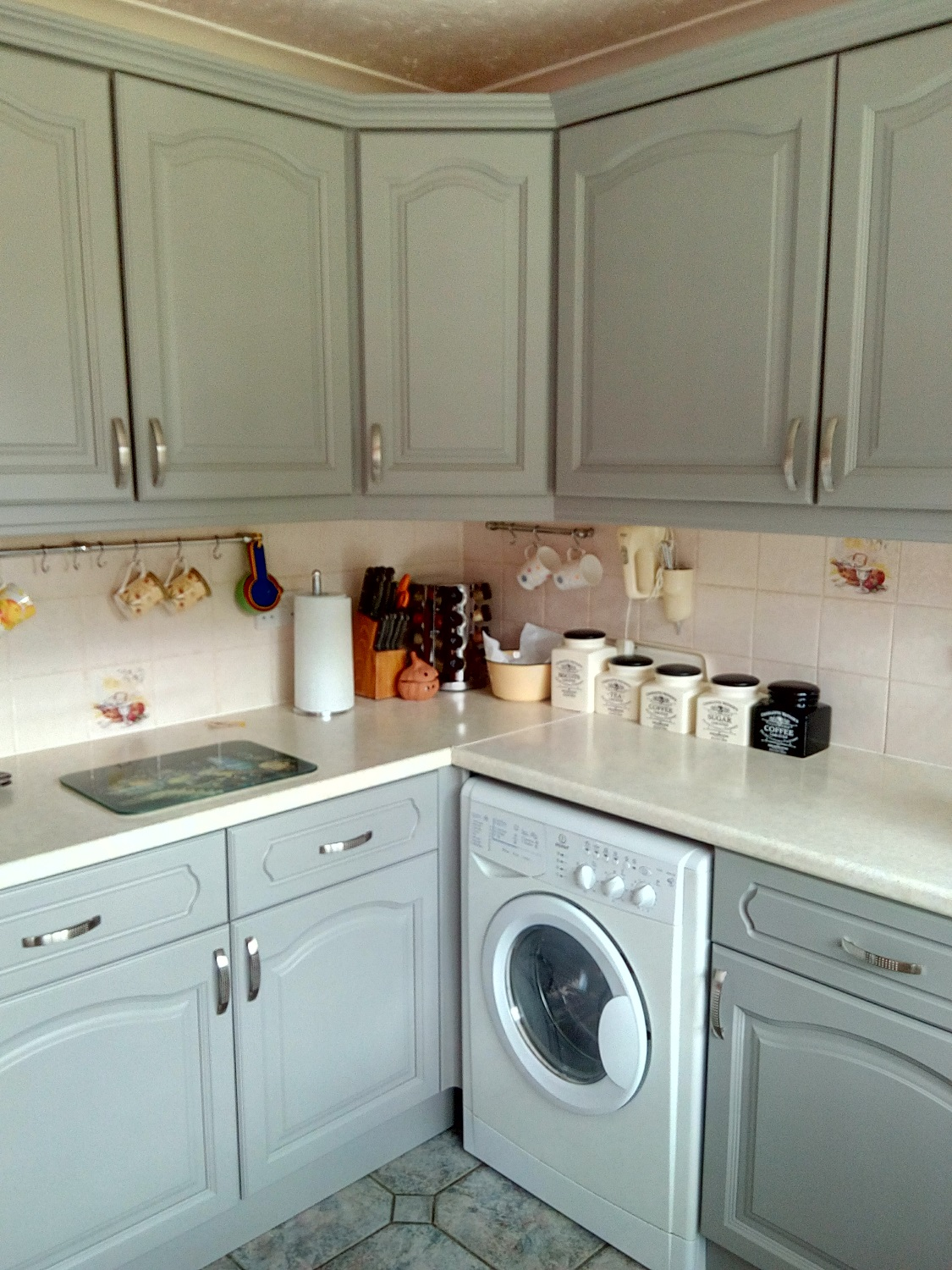 Farrow and Ball Painted Kitchen Colchester after15