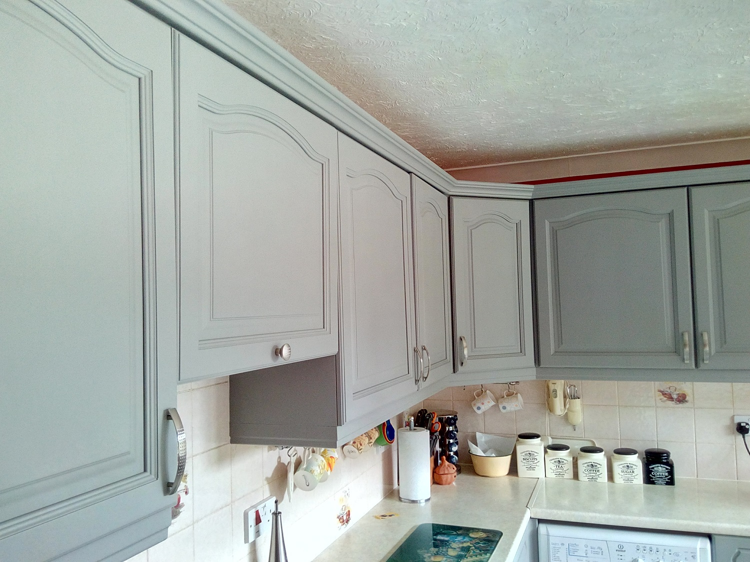 Farrow and Ball Painted Kitchen Colchester after16