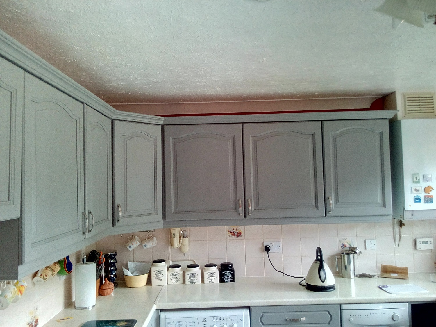 Farrow and Ball Painted Kitchen Colchester after7