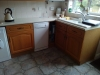 Farrow and Ball Painted Kitchen Colchester before4
