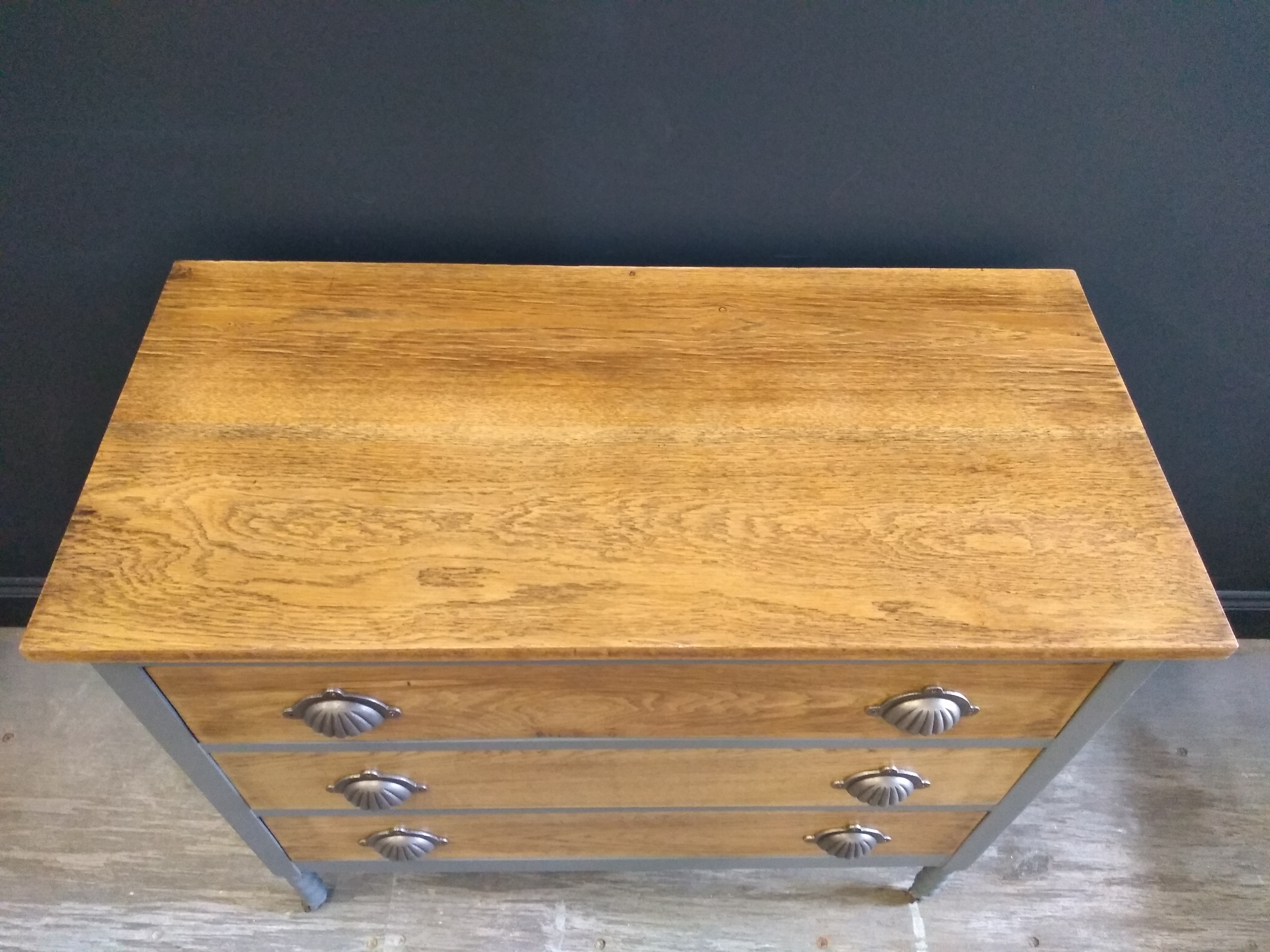 Painted Oak Chest of Drawers Suffolk 6