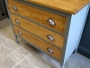Painted Oak Chest of Drawers Suffolk 2