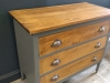 Painted Oak Chest of Drawers Suffolk 3