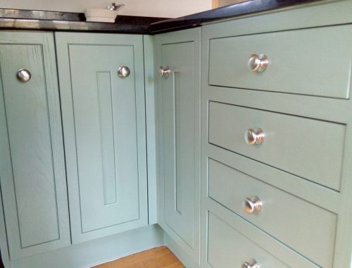 A Painted Kitchen Bulmer Suffolk
